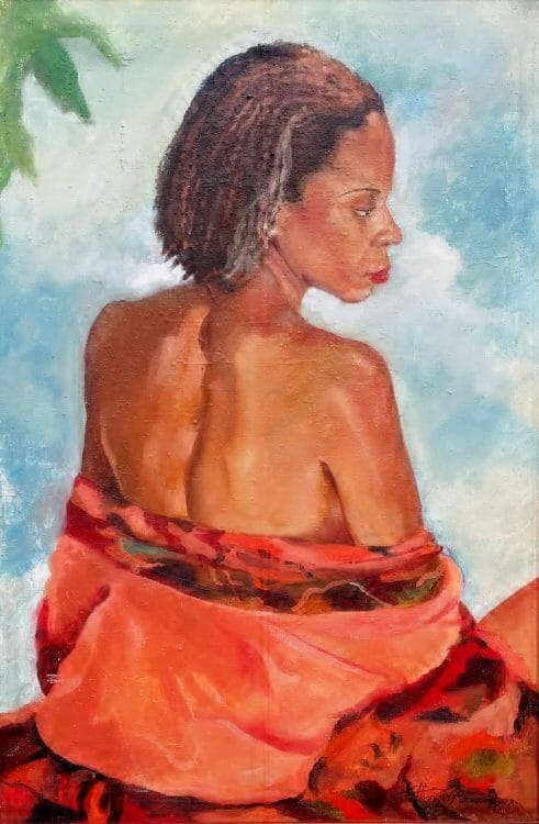 Oil Painting of Loraine