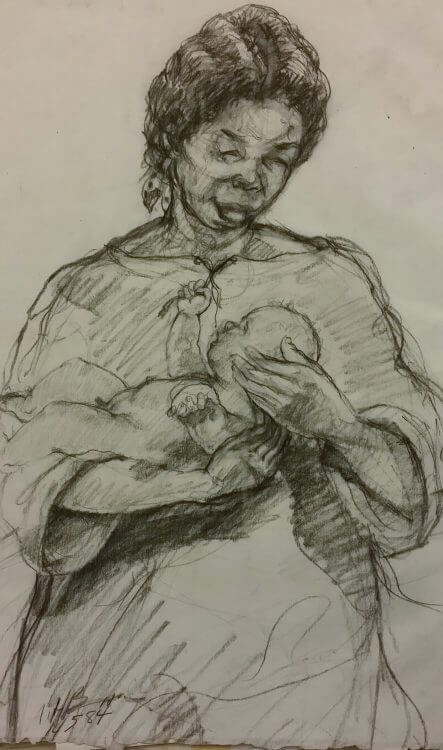 Mother with Child III