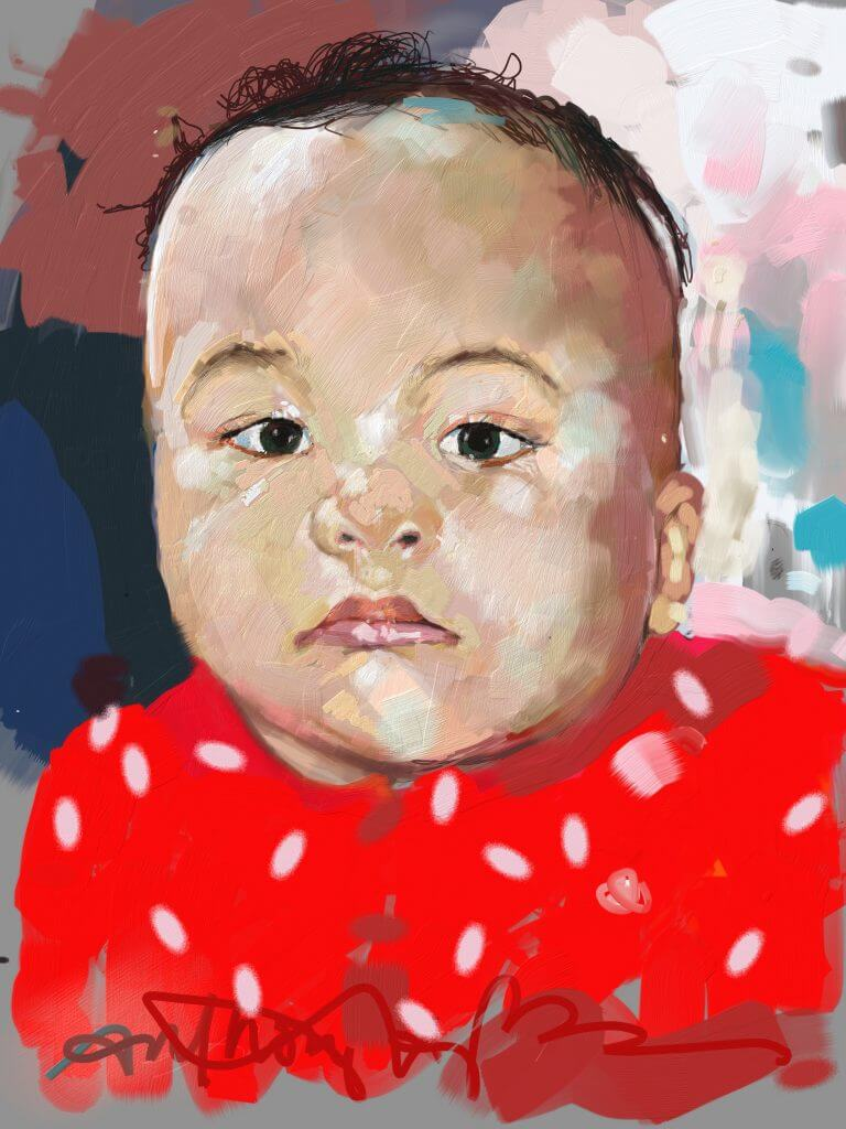 Digital Painting of Emory