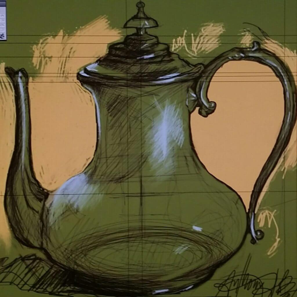 Water Pitcher Sketch